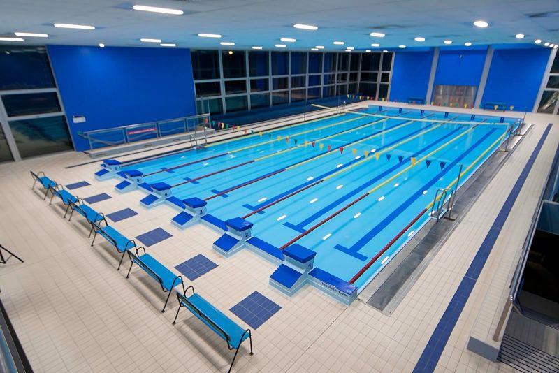 Bazén kladenského aquaparku