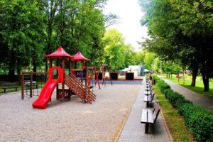 Dětské hřiště na stadionu Sletiště